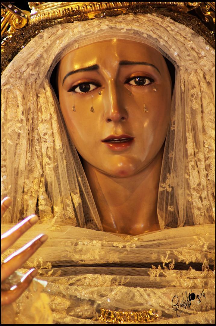 Resultado de imagen de salida procesional de la Virgen de las Veredas